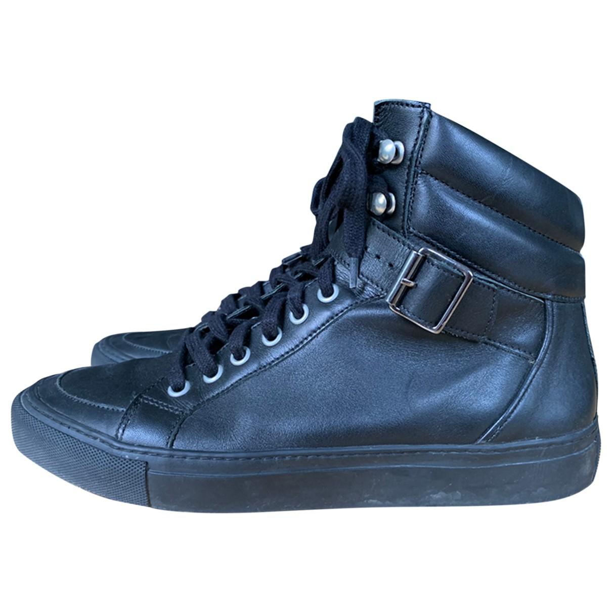 The Kooples \N Black Leather Boots for Men 41 EU