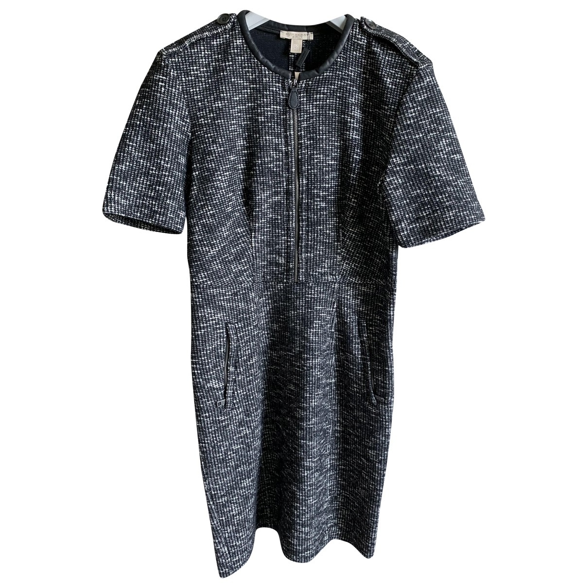 Burberry \N Black Wool dress for Women 10 UK