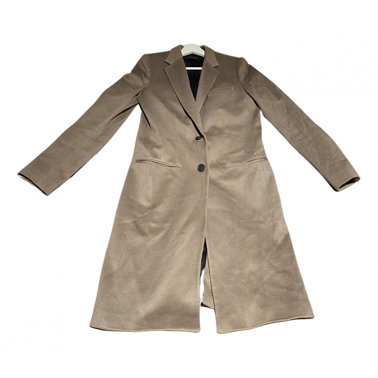 Joseph - Manteau   pour femme en laine - marron
