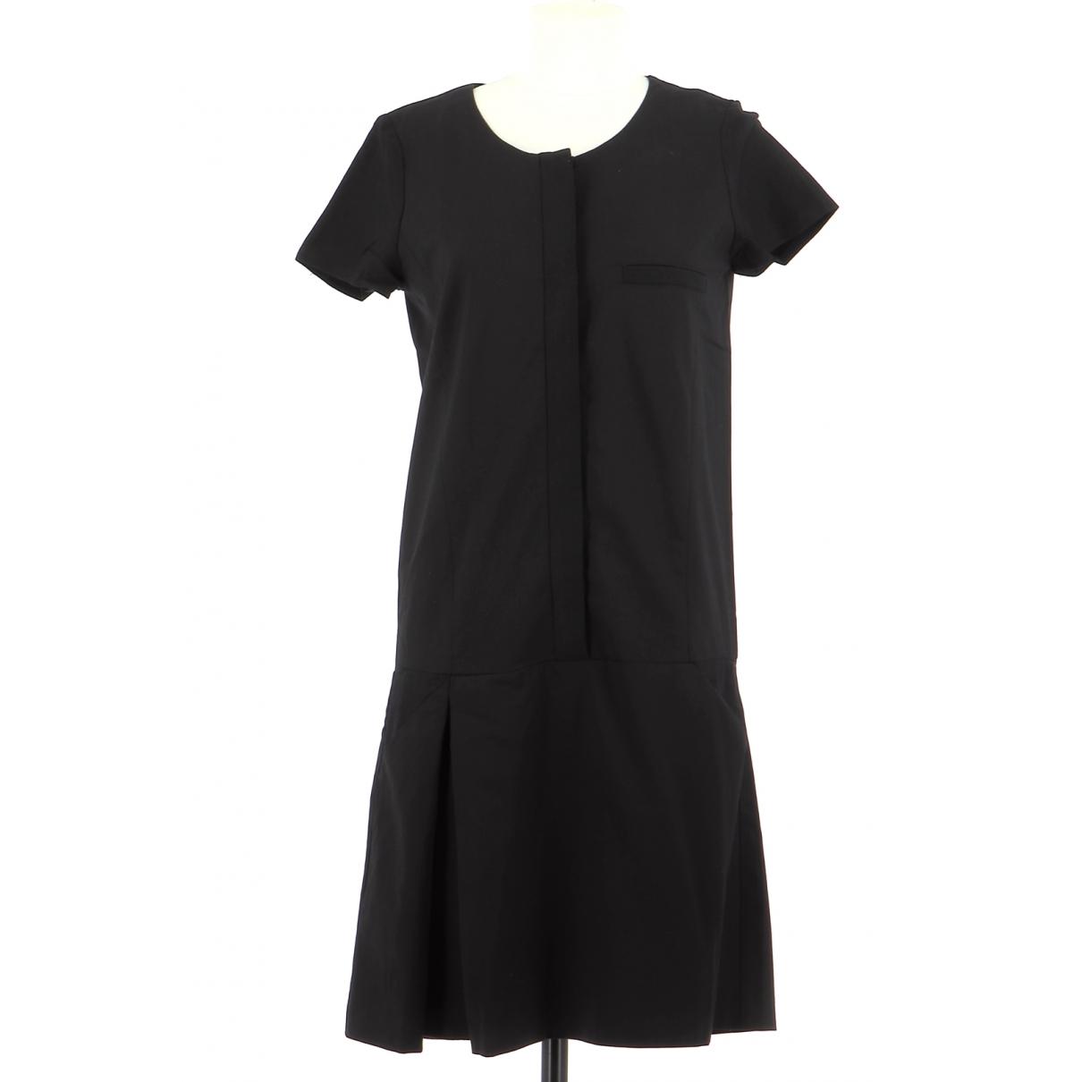 Comptoir Des Cotonniers \N Kleid in  Schwarz Wolle