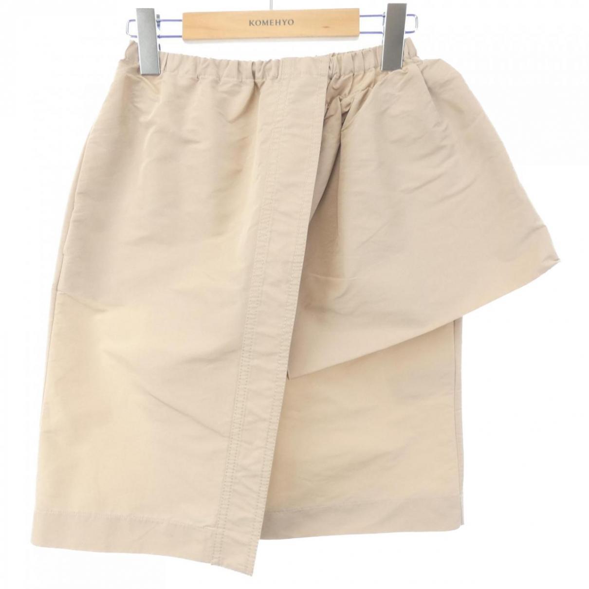 N°21 - Jupe   pour femme - beige