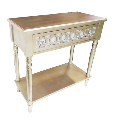 ETD-EN27108 Appealing Gold TV Table Stand -