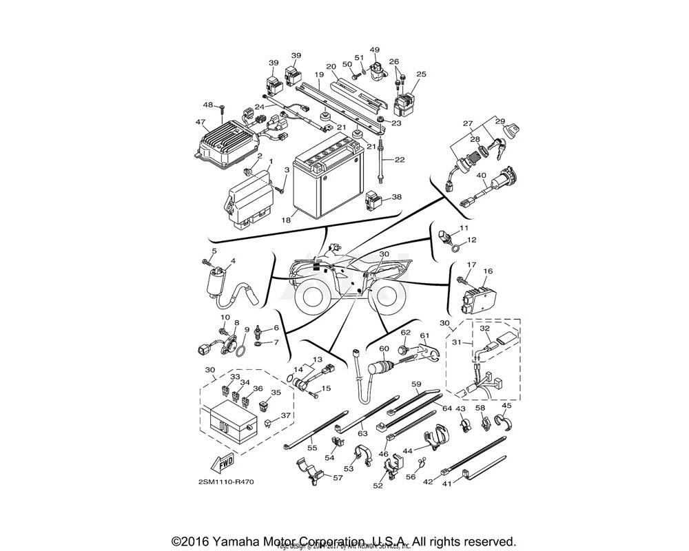 Yamaha OEM 3GB-82540-01-00 NEUTRAL SWITCH ASSY