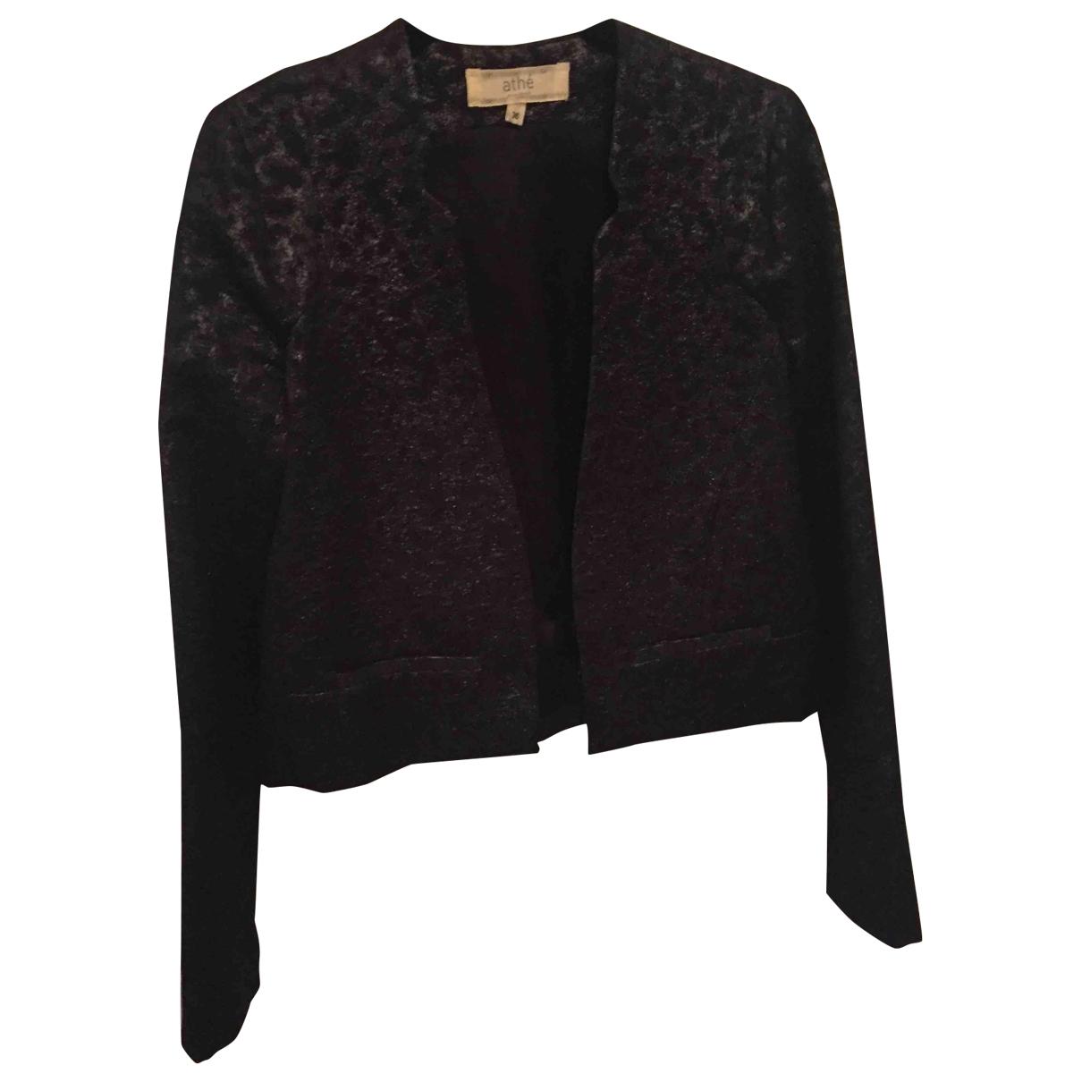Vanessa Bruno Athe - Veste   pour femme en coton - noir