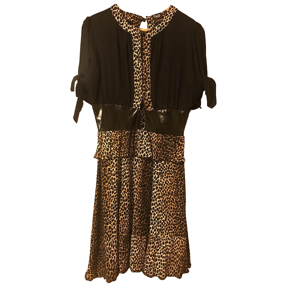 Dolce & Gabbana \N Kleid in  Bunt Viskose