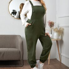 Plus Pocket Side Strap Overall