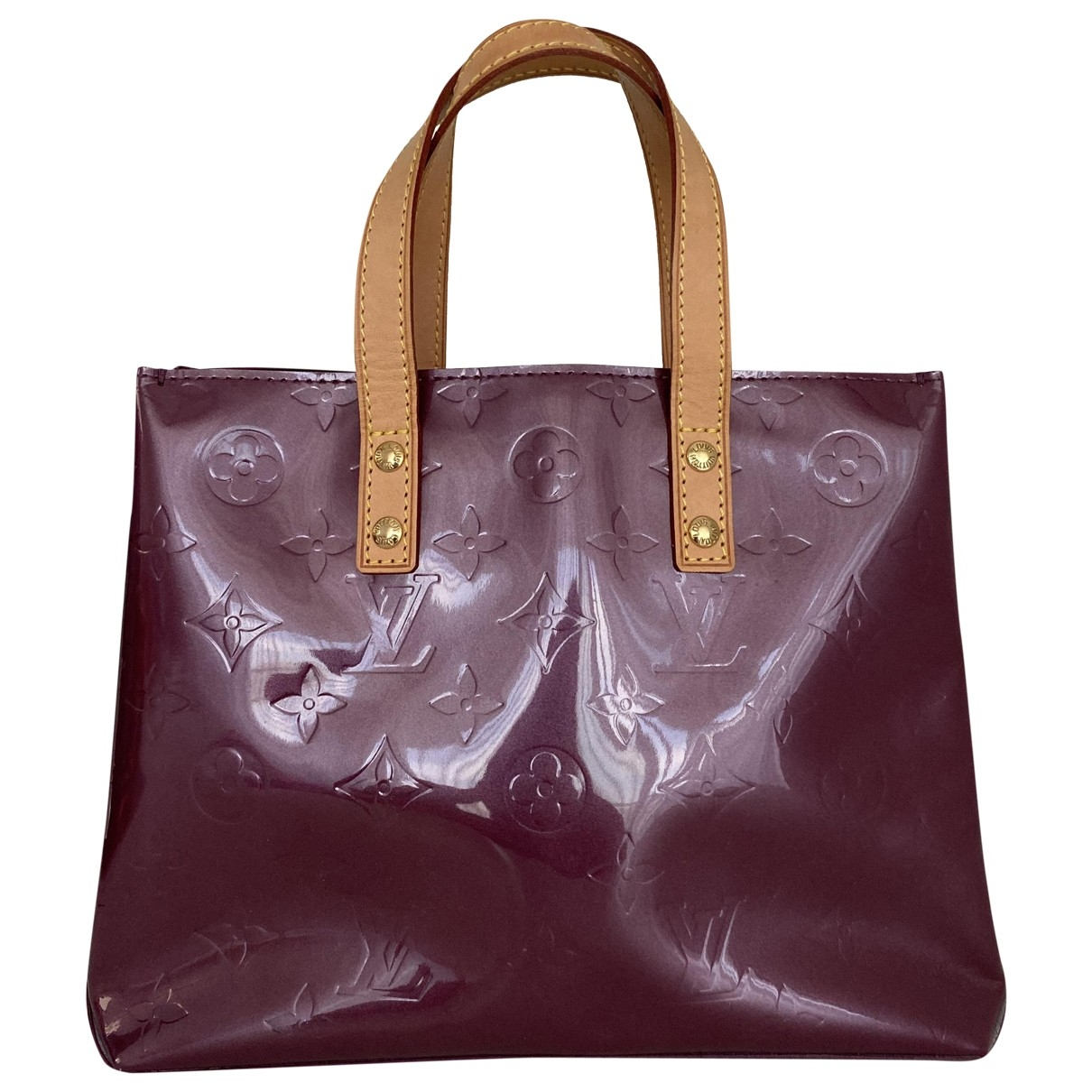 Louis Vuitton Houston Burgundy Patent leather handbag for Women \N
