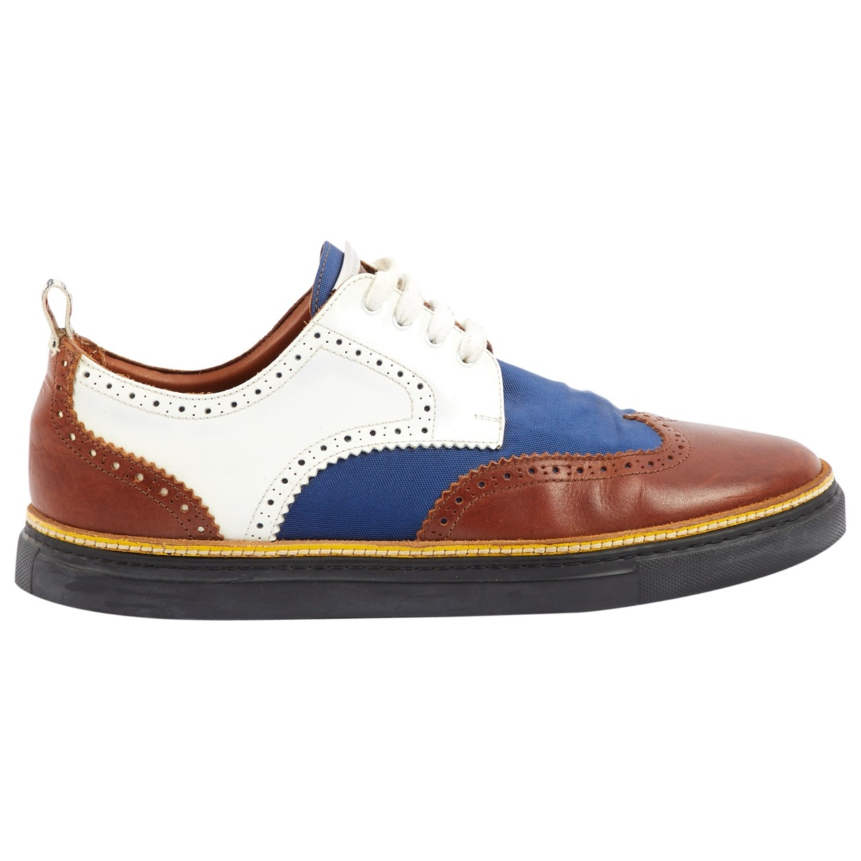 Dsquared2 - Derbies   pour homme en cuir - marron