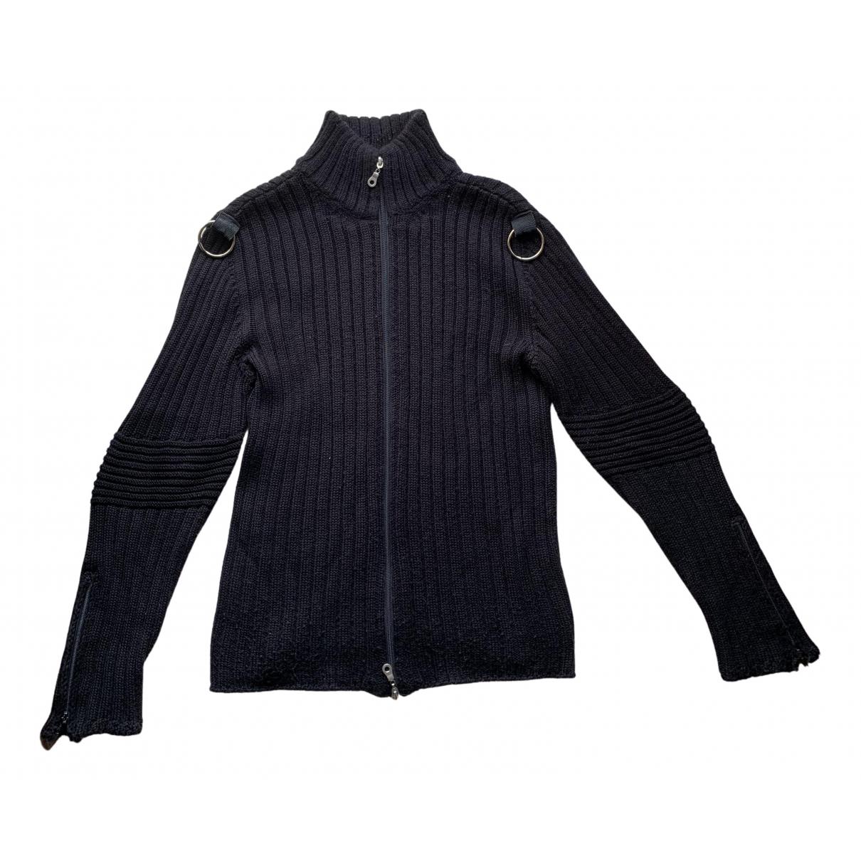 American Vintage \N Pullover.Westen.Sweatshirts  in  Schwarz Baumwolle