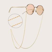 Cadena de gafas metalica