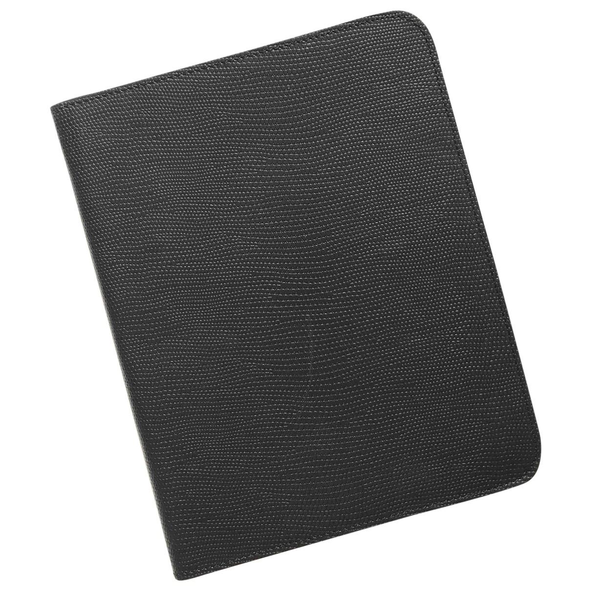 J.lindeberg - Accessoires   pour lifestyle en cuir - noir