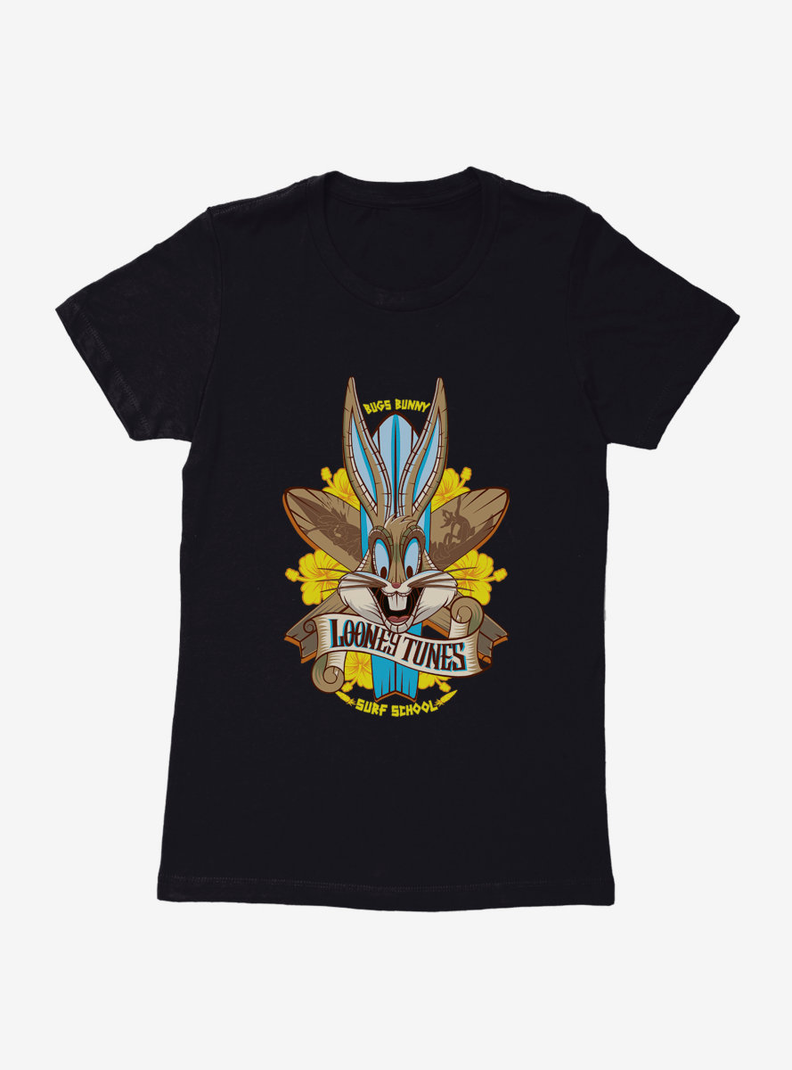 Looney Tunes Surf School Womens T-Shirt