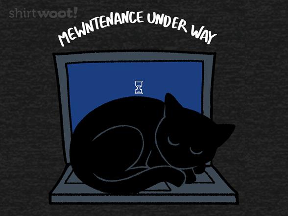 Regular Mewntenance T Shirt