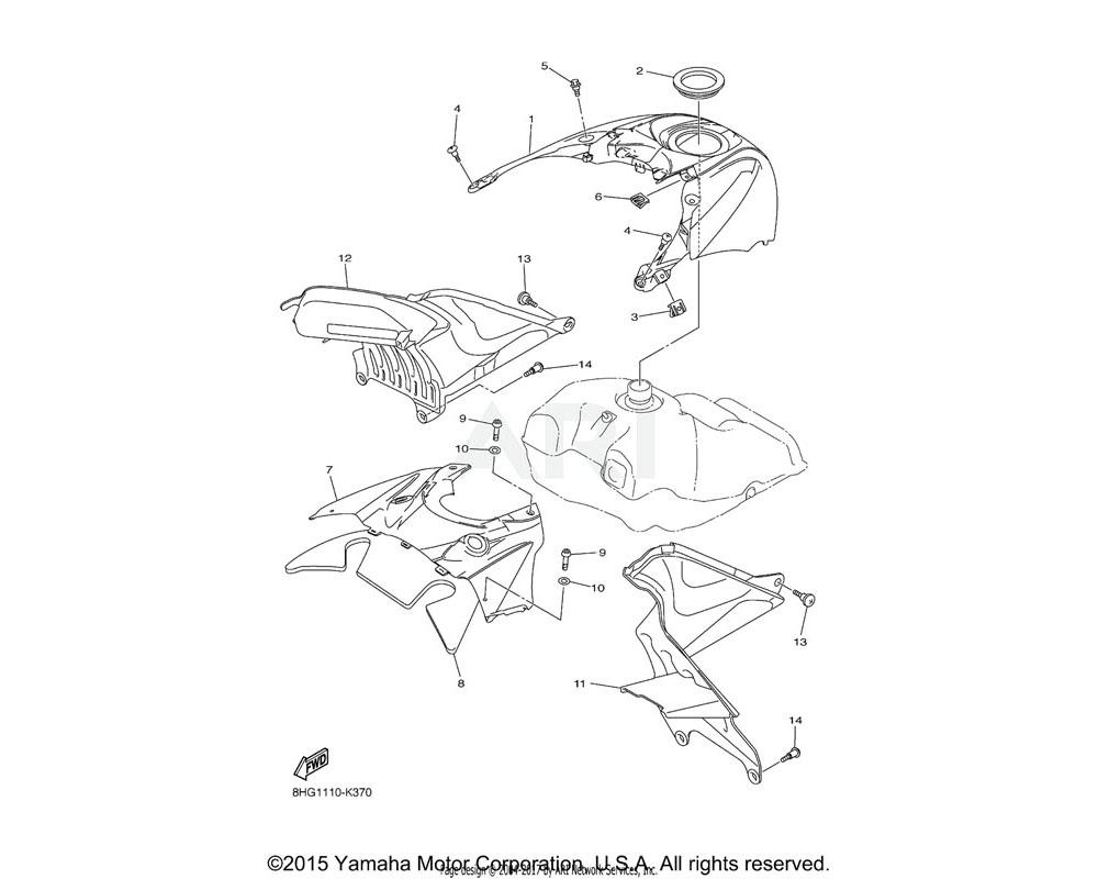 Yamaha OEM 8FP-77712-00-P3 PANEL, INSTRUMENT | Use for Color Black Metallic X ( SMX / 0903 )