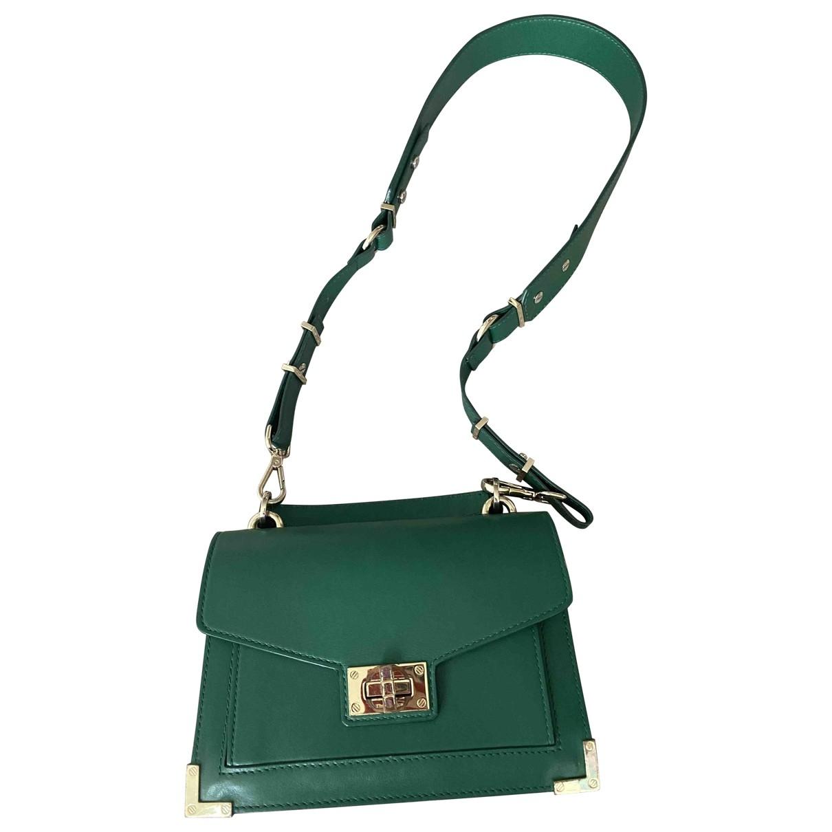 The Kooples Emily Green Leather handbag for Women \N