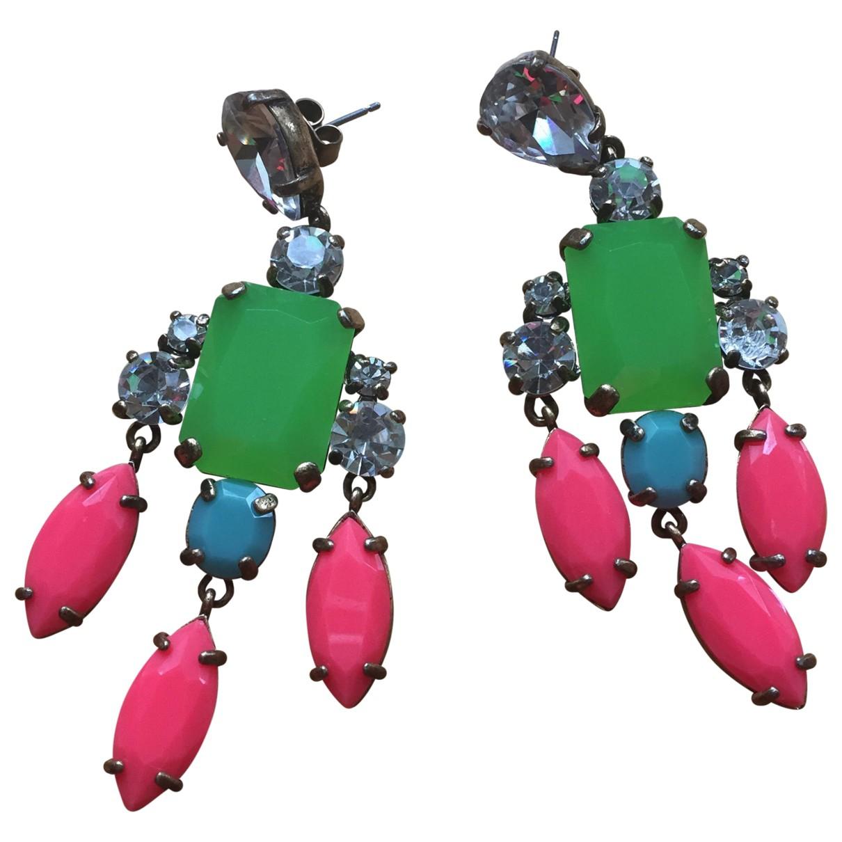 J.crew - Boucles doreilles   pour femme en cristal - multicolore