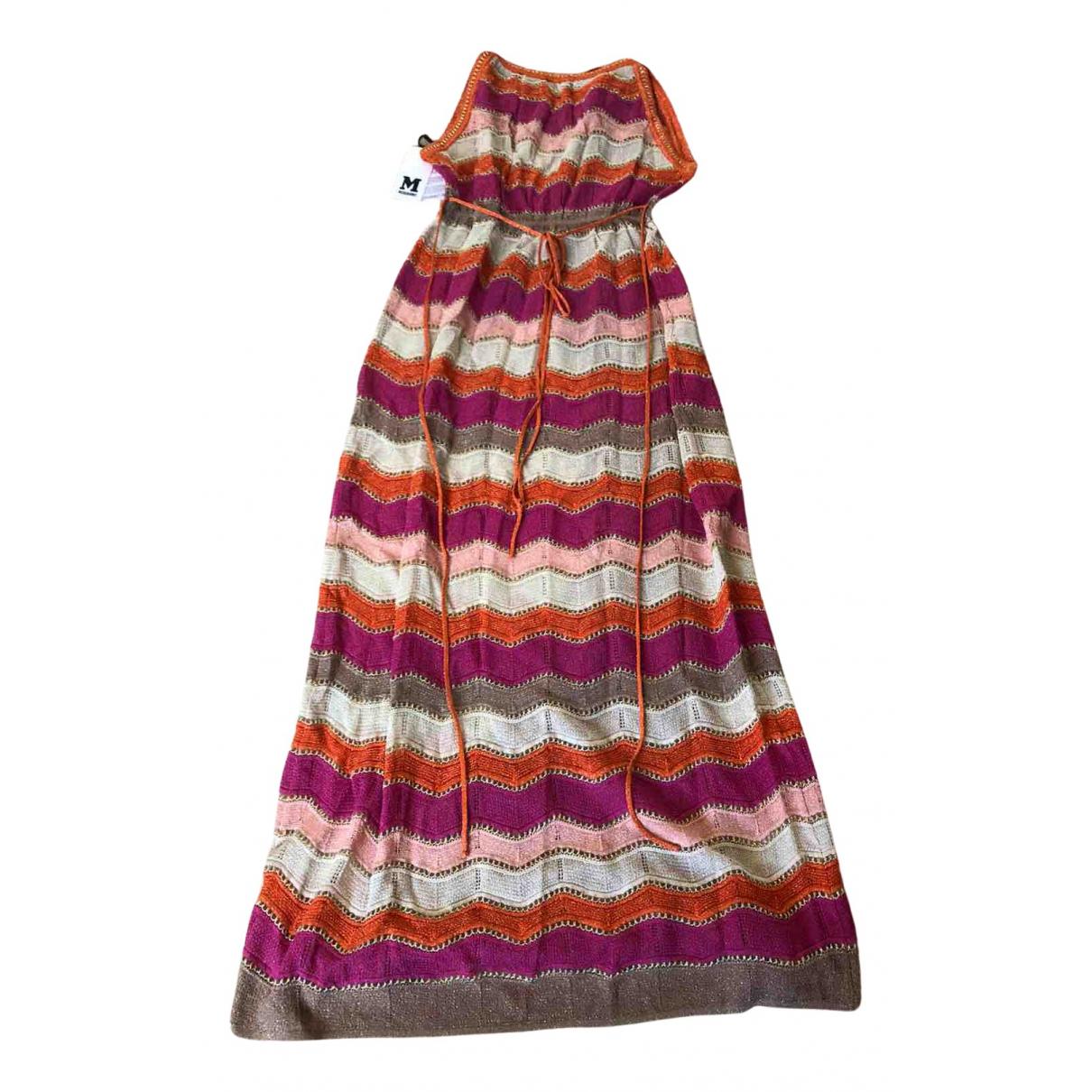 M Missoni - Robe   pour femme - multicolore