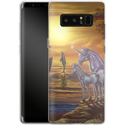 Samsung Galaxy Note 8 Silikon Handyhuelle - Ed Beard Jr - Mystical Occurance von TATE and CO