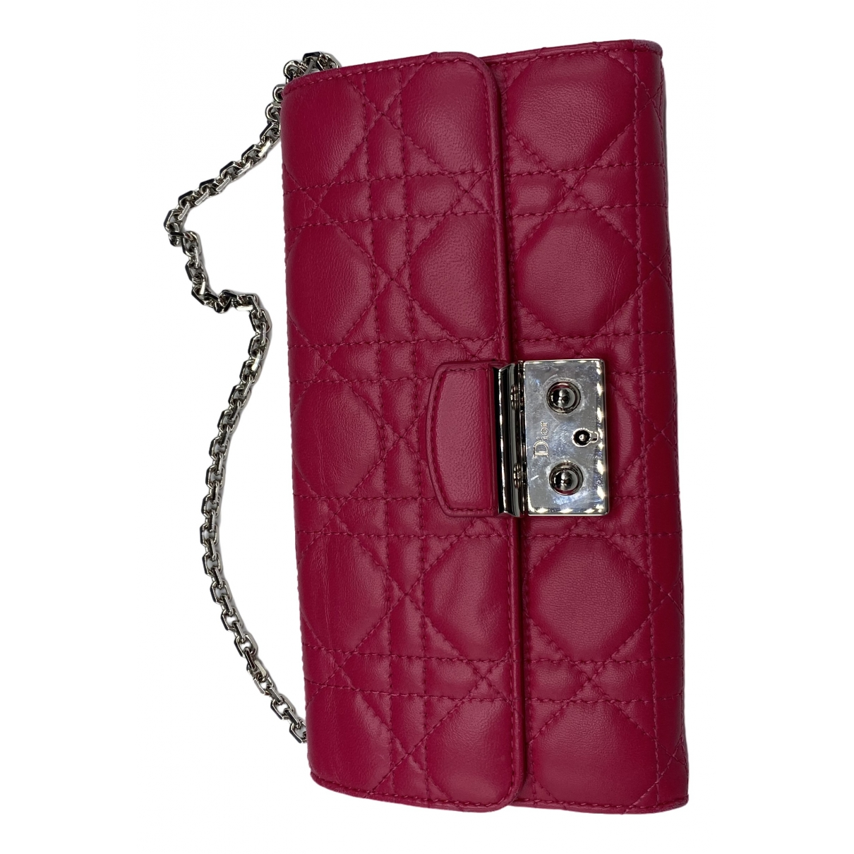 Dior Miss Dior Clutch in  Rosa Leder