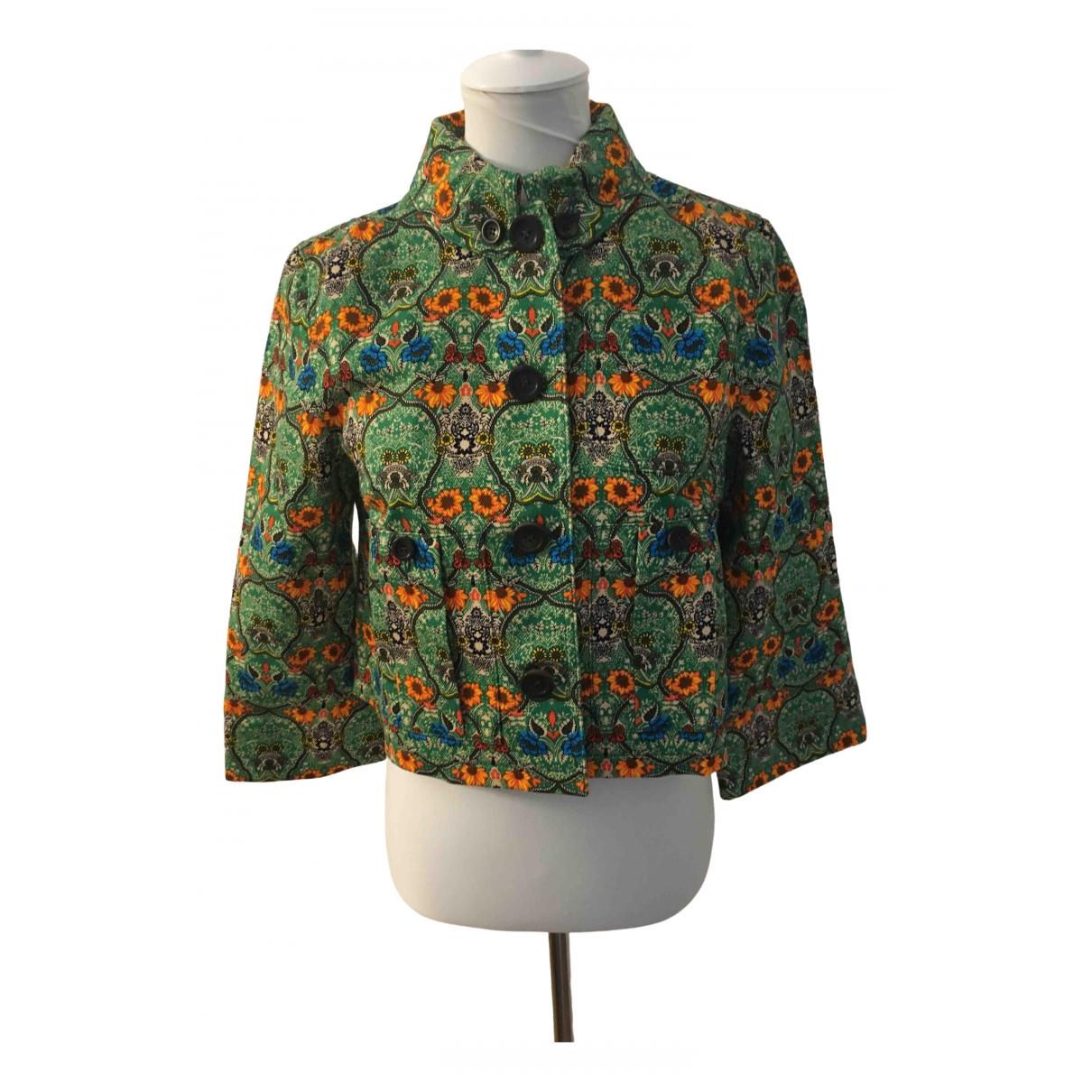 Miu Miu \N Multicolour Cotton jacket for Women 42 IT
