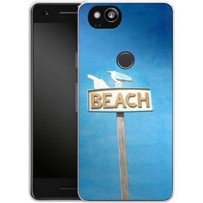 Google Pixel 2 Silikon Handyhuelle - Beach von Joy StClaire