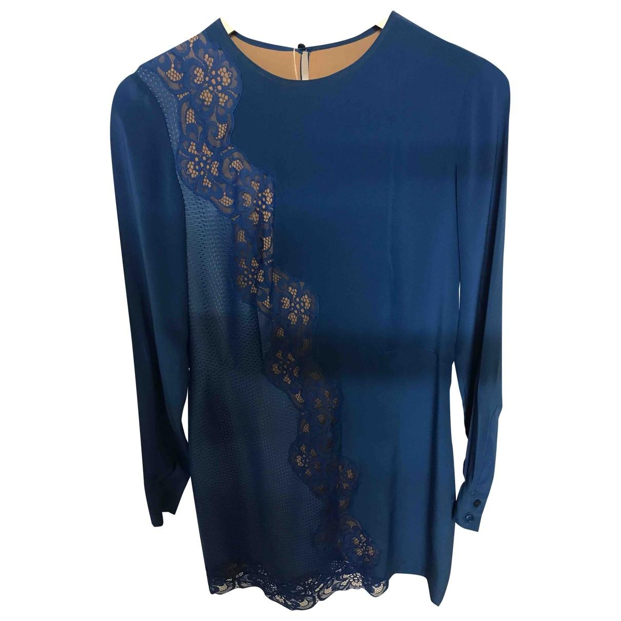 Stella Mccartney \N Kleid in  Blau Seide