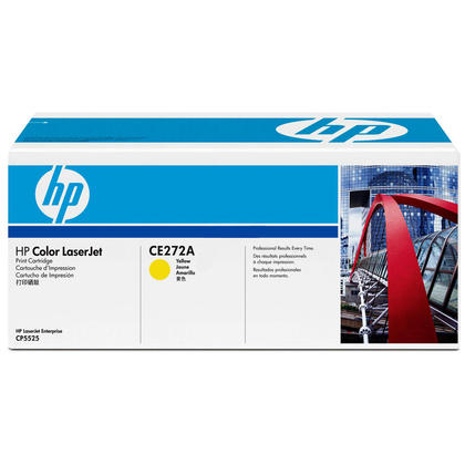 HP 650A CE272A Original Yellow Toner Cartridge