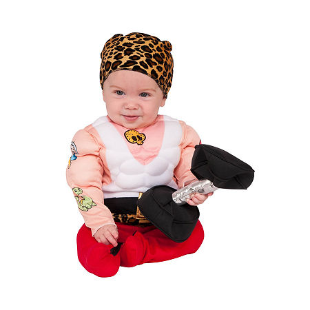Toddler Muscleman Costume Costume, Newborn-6 Months , Multiple Colors