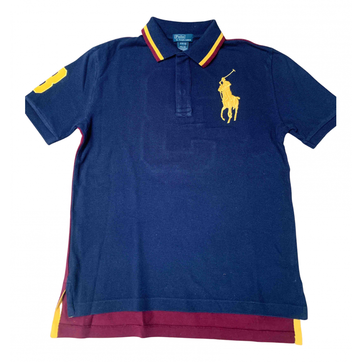 Polo Ralph Lauren N Navy Cotton  top for Kids 10 years - until 56 inches UK