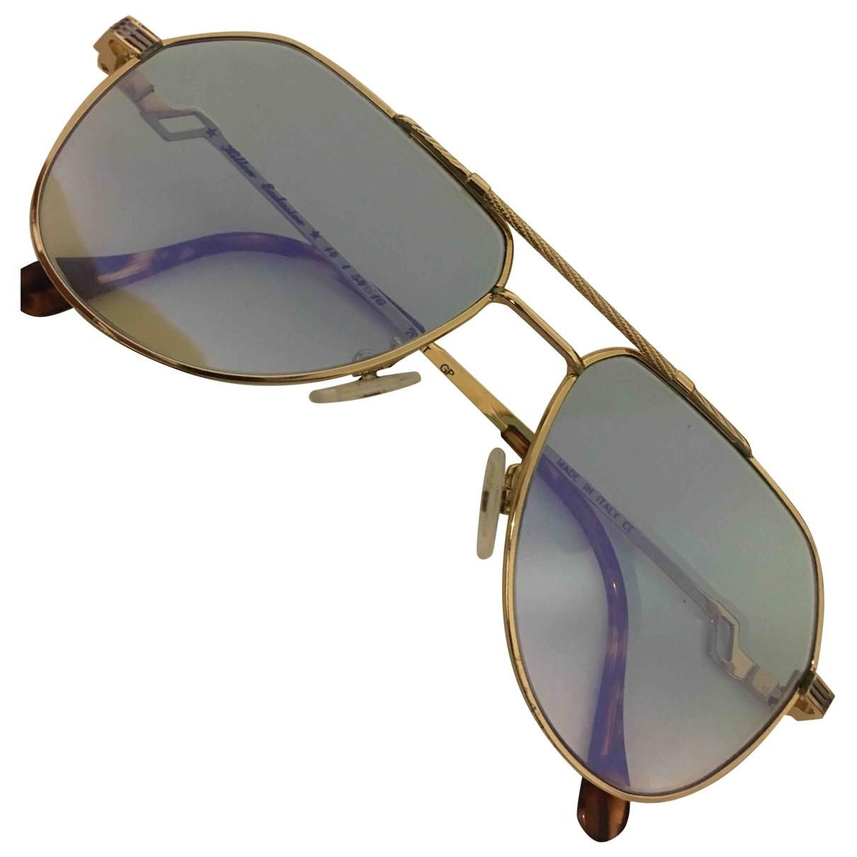 Non Signe / Unsigned \N Sonnenbrillen in Metall
