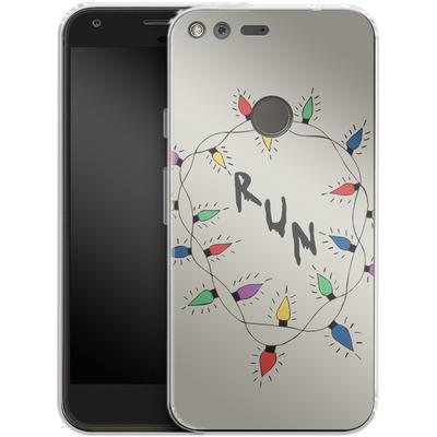 Google Pixel XL Silikon Handyhuelle - RUN von caseable Designs