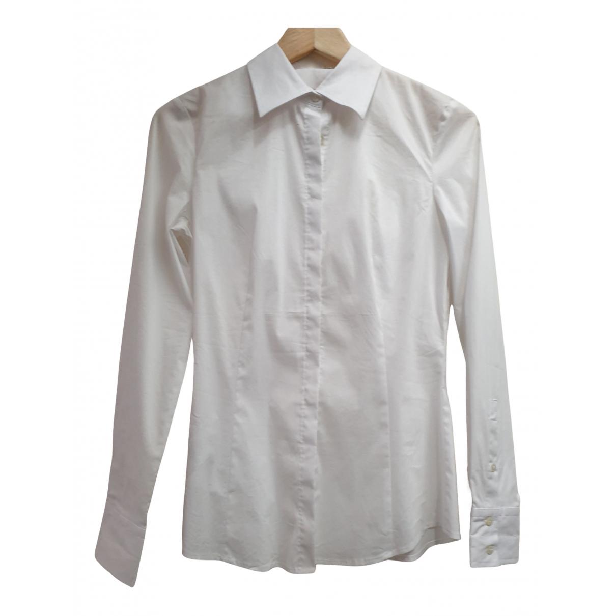 Stefanel - Top   pour femme en coton - blanc