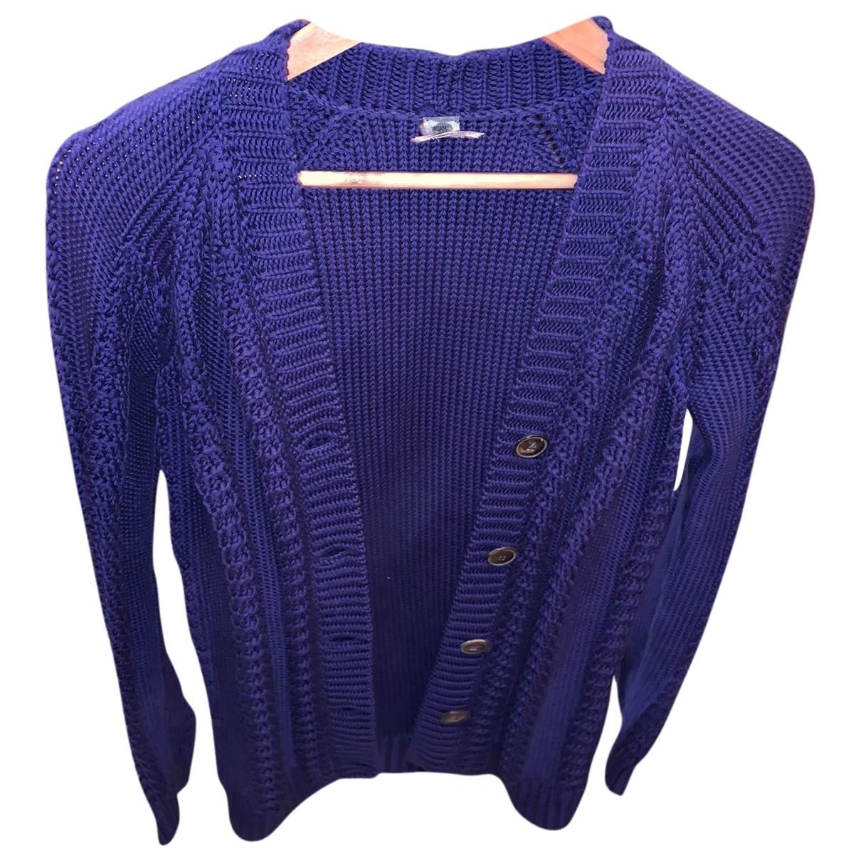 Hermès \N Purple Cotton Knitwear for Women 34 FR