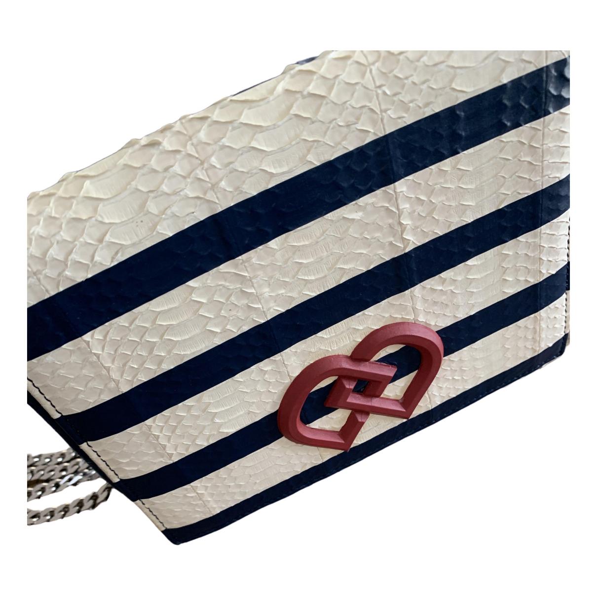 Dsquared2 \N Handtasche in  Marine Lackleder