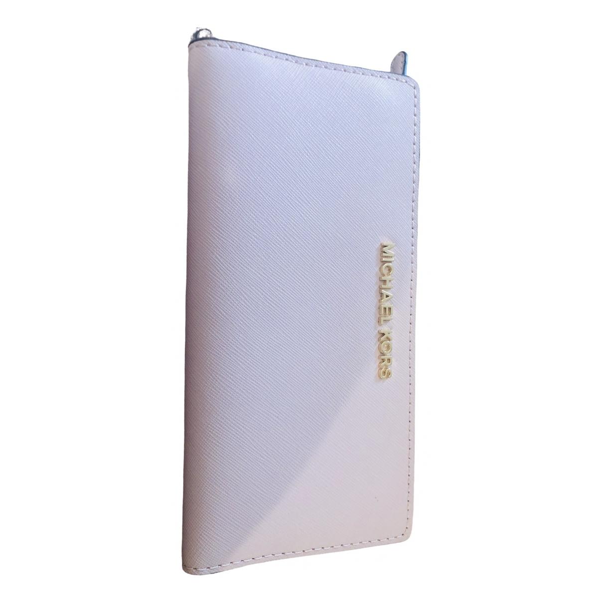 Michael Kors \N Pink Leather wallet for Women \N