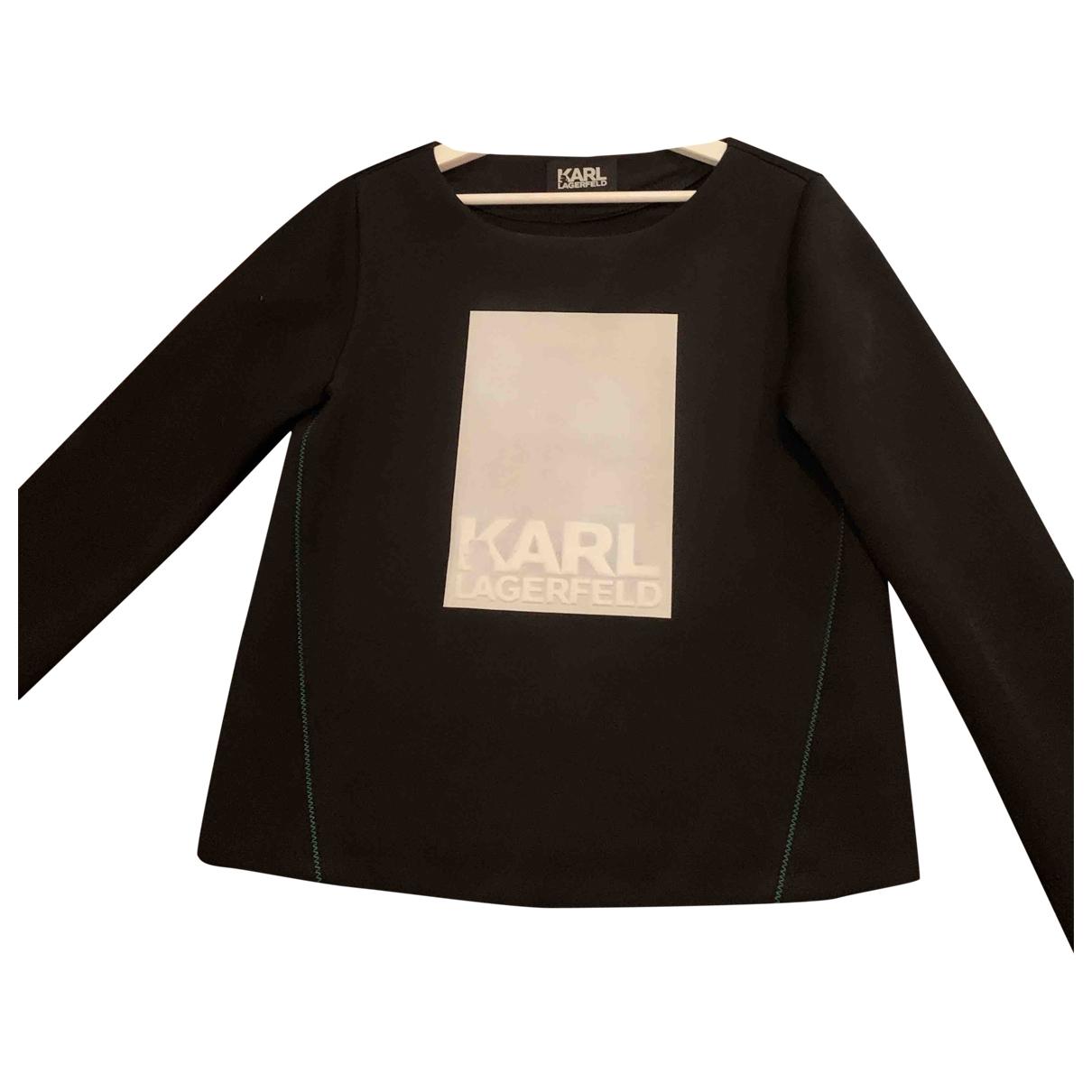 Karl \N Black  top for Women M International