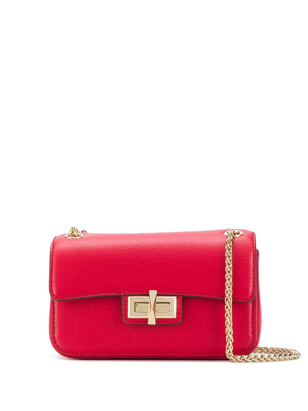 Jojo Small Leather Crossbody Bag