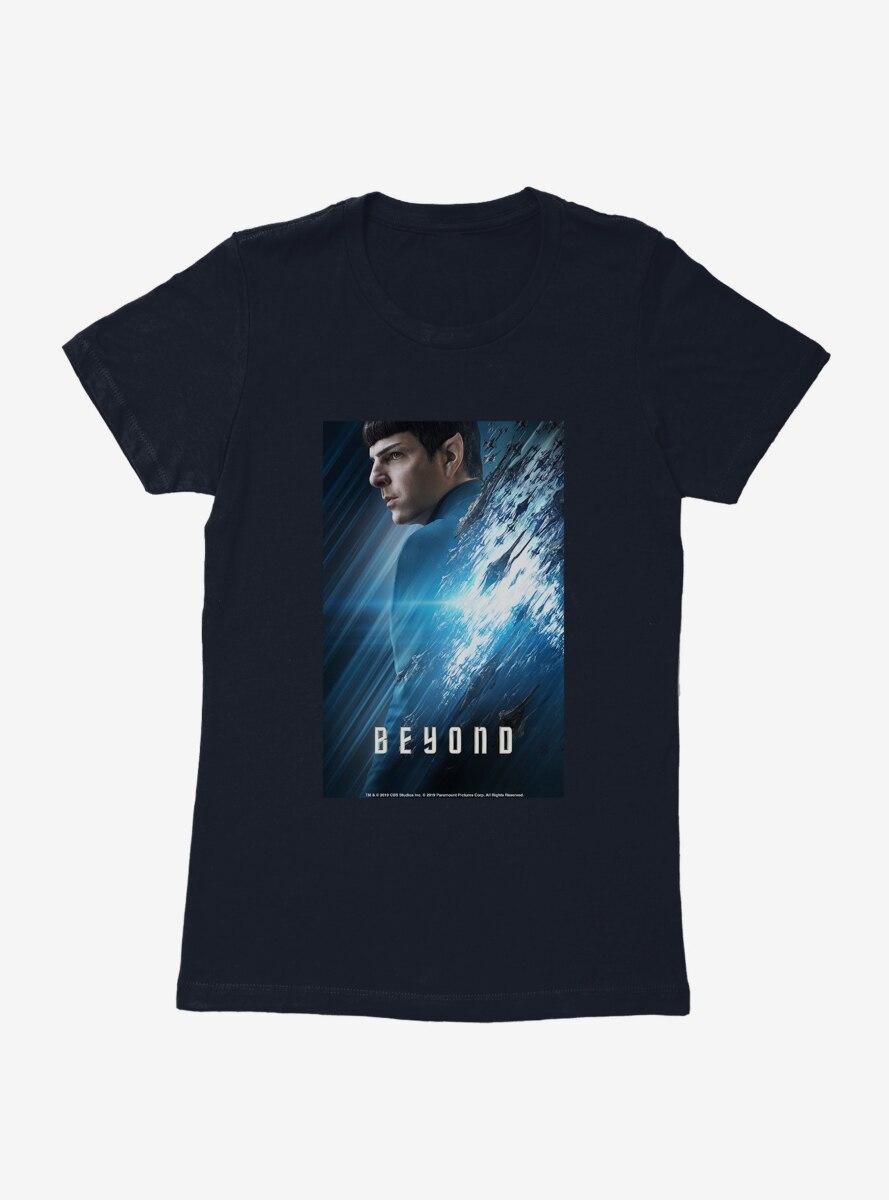 Star Trek Beyond Sulu Teaser Poster Womens T-Shirt