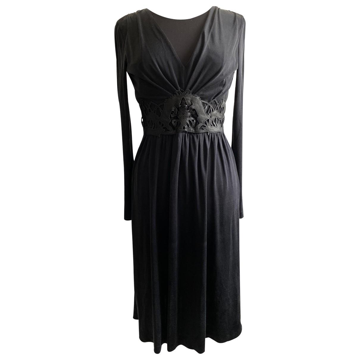 Cacharel - Robe   pour femme en soie - noir