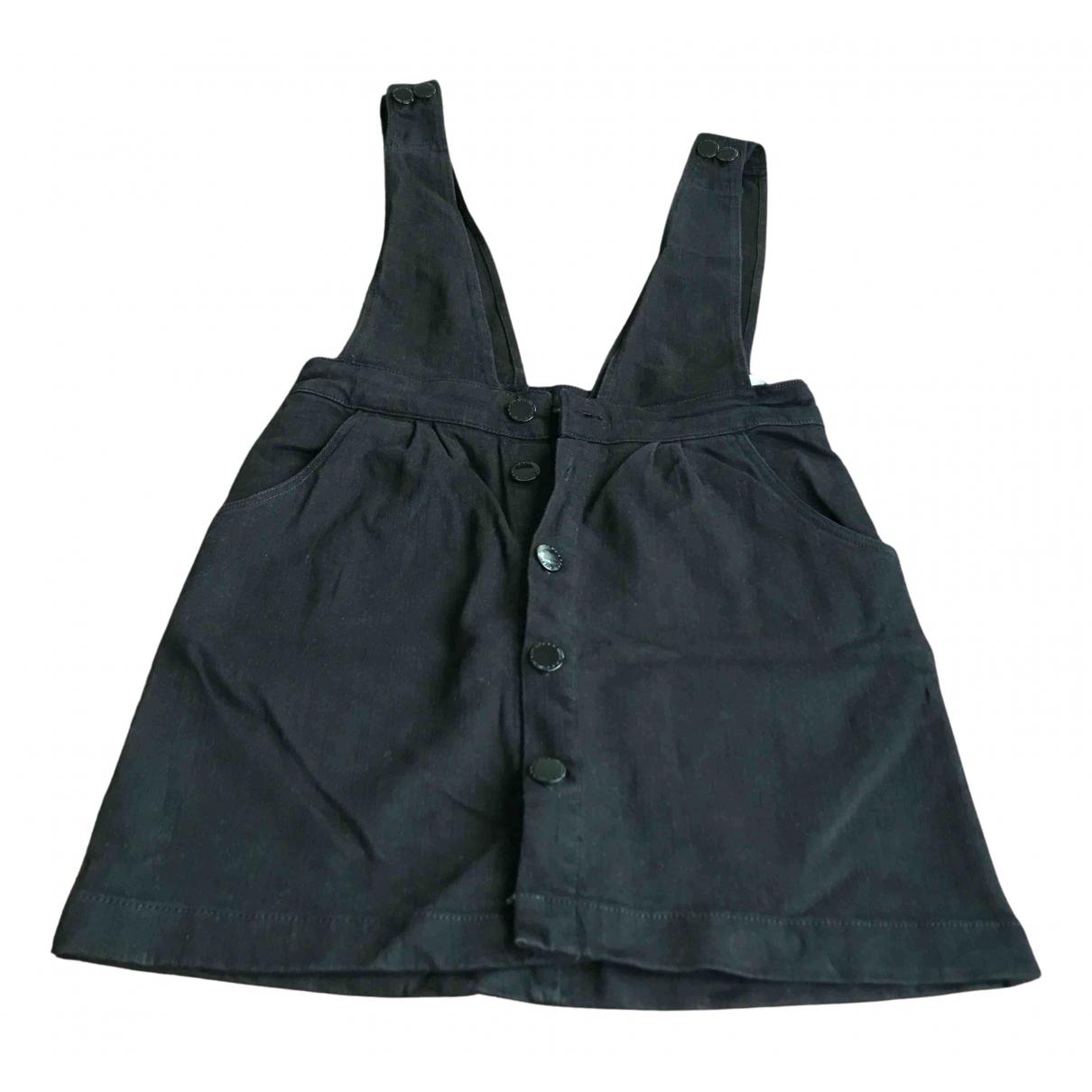 Maje - Jupe   pour femme en coton - elasthane - noir