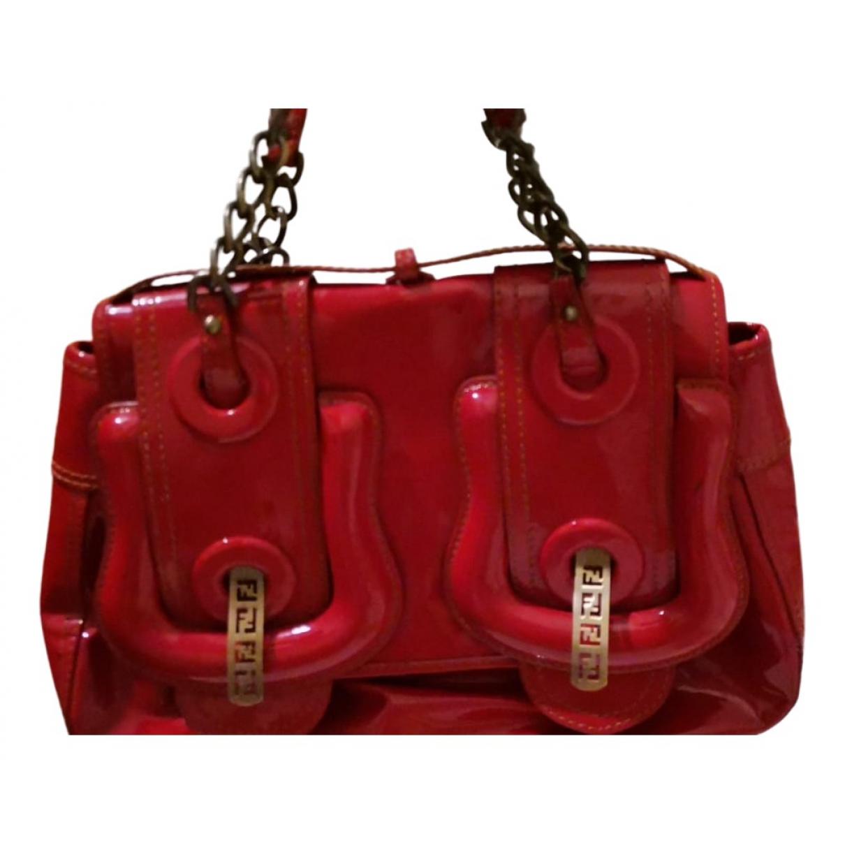 Fendi B Bag Red handbag for Women \N