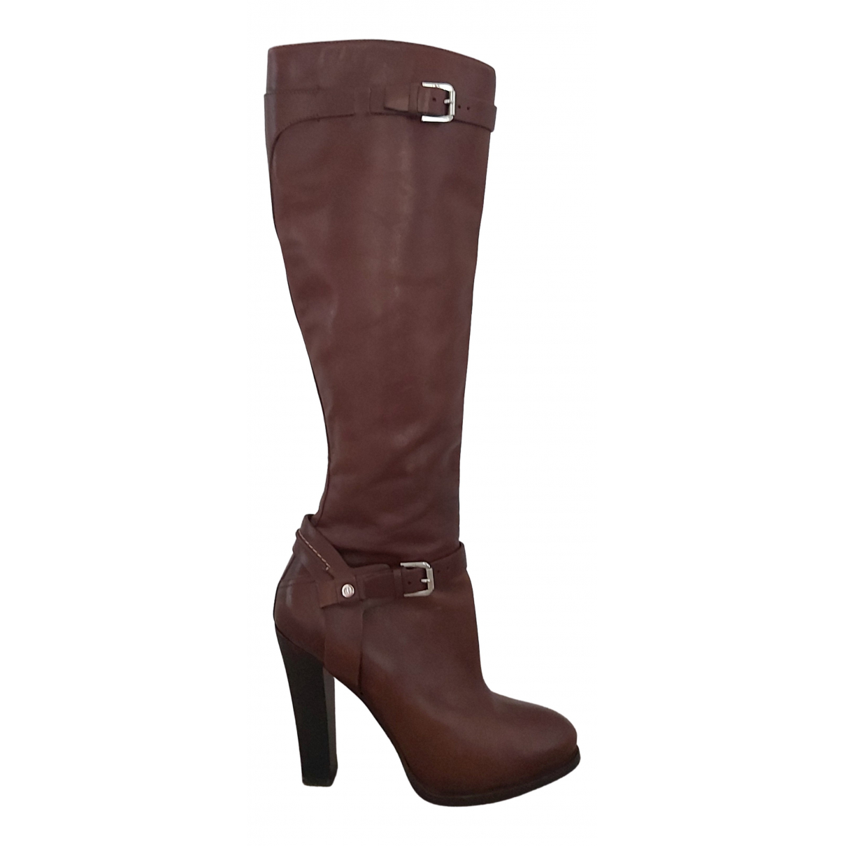 Ralph Lauren Collection \N Brown Leather Boots for Women 7.5 US