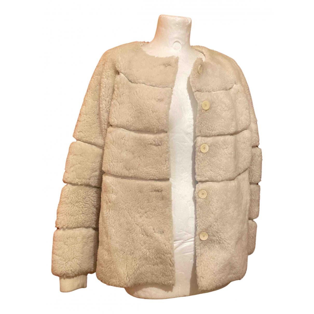Paul & Joe N White Wool coat for Women 38 FR