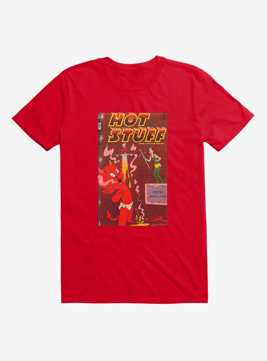 Hot Stuff The Little Devil Sword Swallower Comic Cover T-Shirt