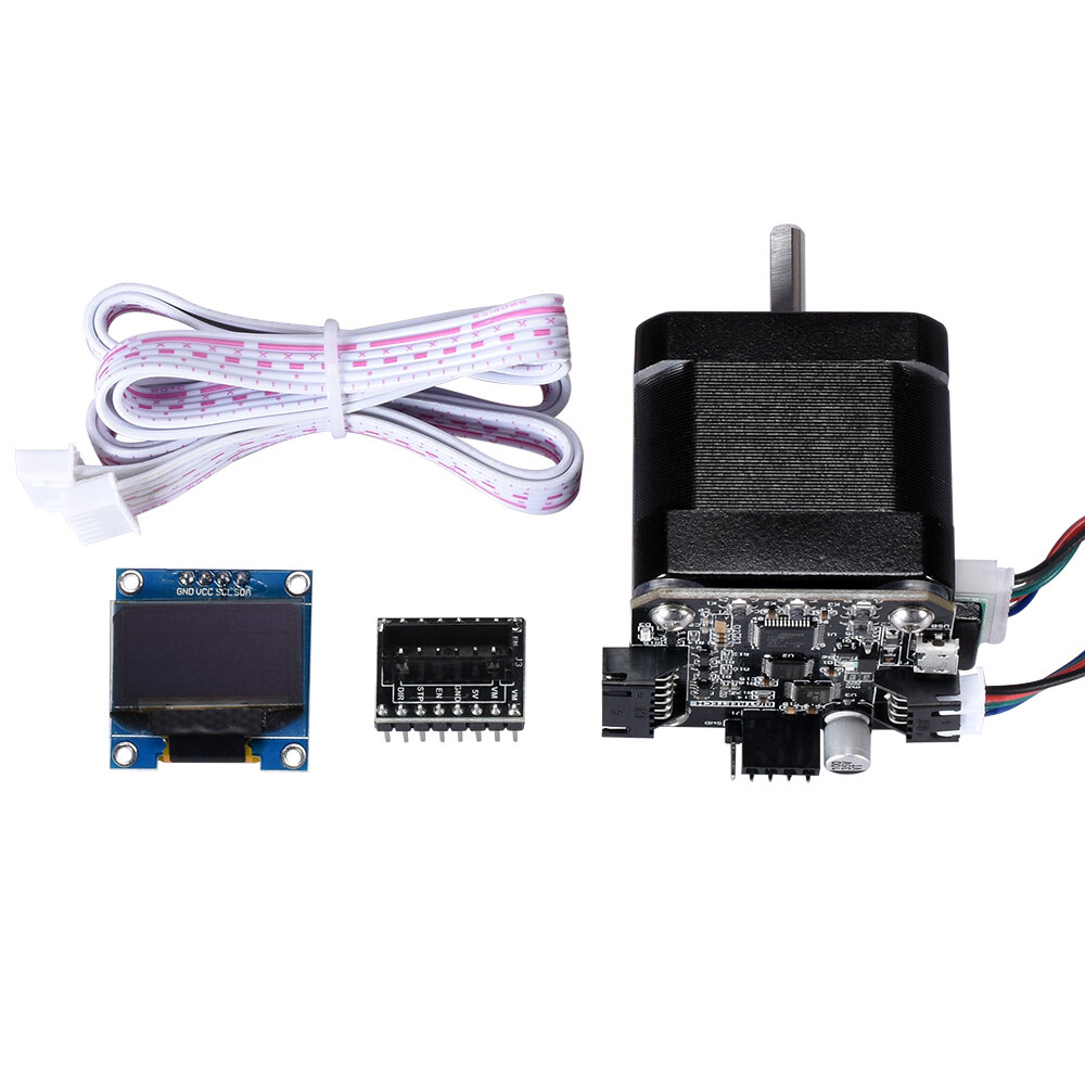BIGTREETECH S42A 42 Stepper Motor Closed Loop Driver Board SERVO42A V1.0 With / Without OLED 12864 Display Kit For RepRa