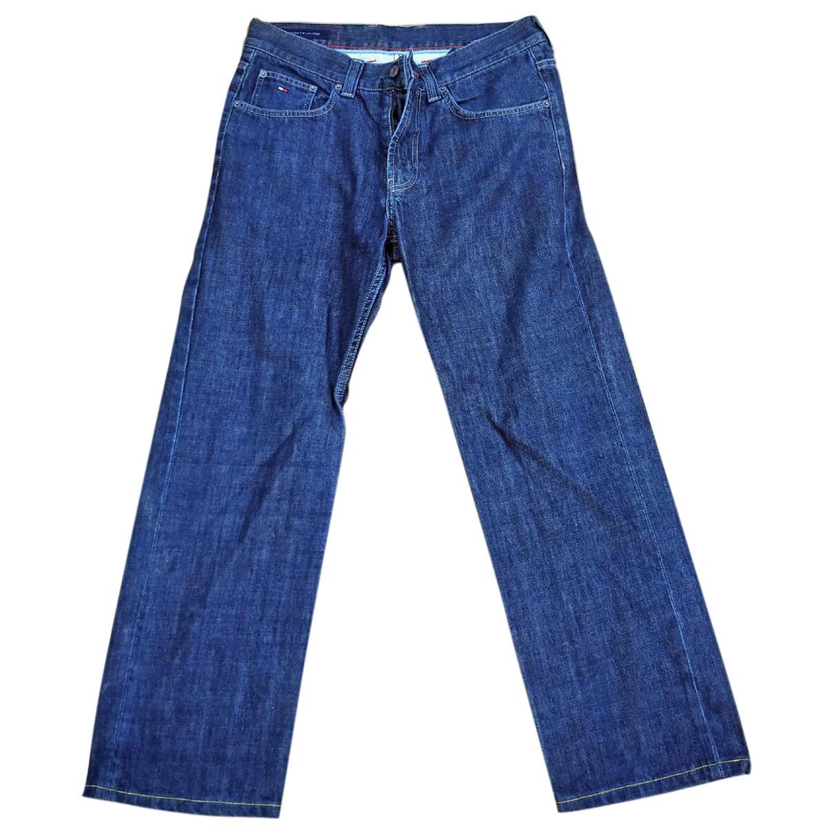 Tommy Hilfiger \N Blue Cotton Jeans for Men 32 US