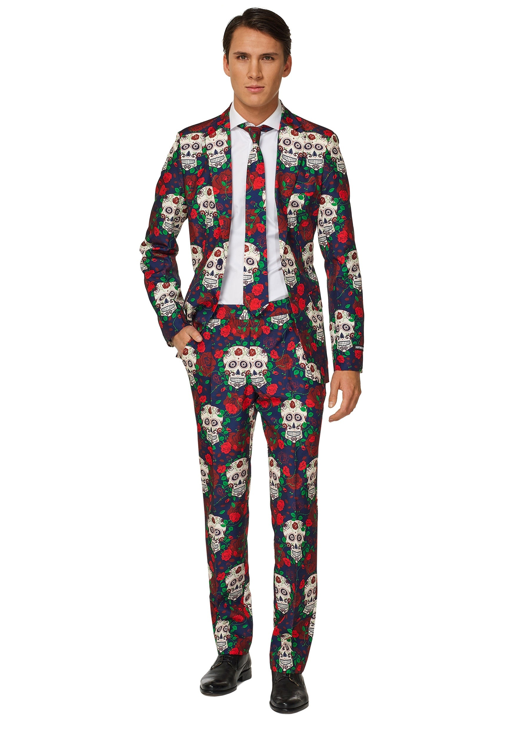 Day of the Dead Men's Suitmeister Suit Costume