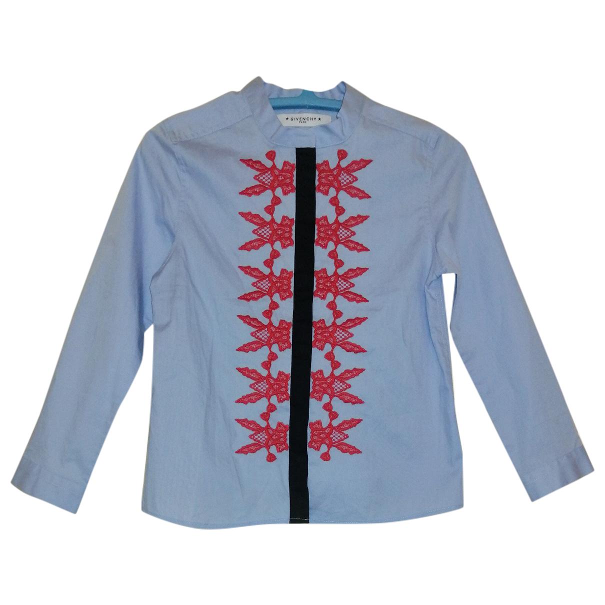Givenchy - Top   pour enfant en coton - bleu