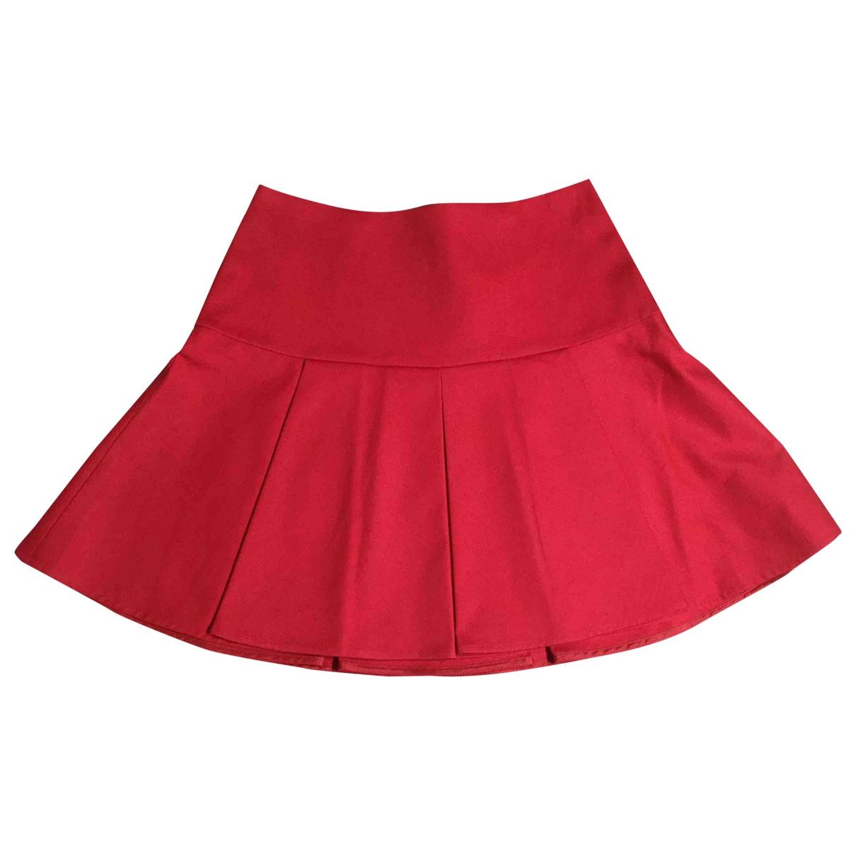 Red Valentino Garavani \N Rocke in  Rot Baumwolle