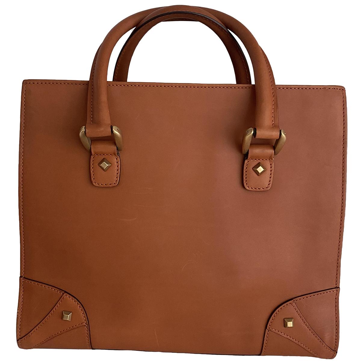 Gucci N Camel Leather handbag for Women N